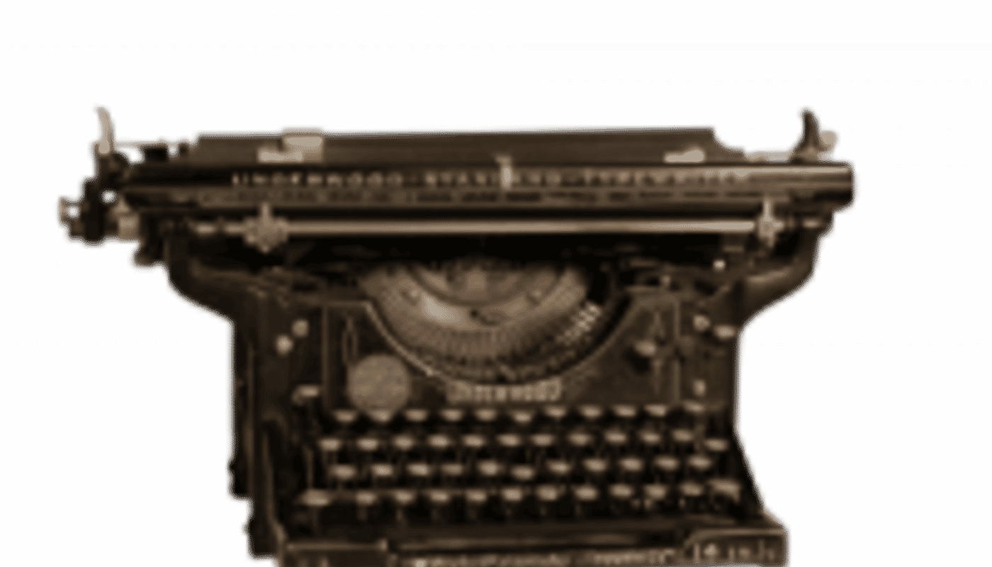 Text Textschmiede-Schreibmaschine