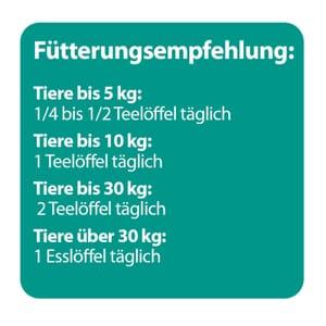 Fuetterungsempfehlung Zeckenschutz