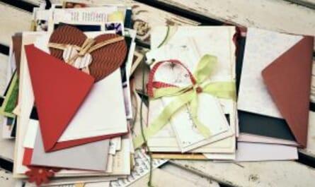 Handgeschriebene Karten & Briefe